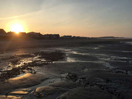 Muddy Sunset, Nantasket Beach, MA